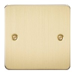 brushed brass hdmi plate