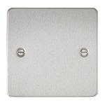 brushed chrome hdmi plate