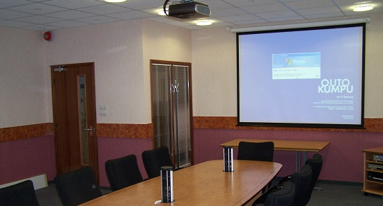 Corporate Audio Visual Installation