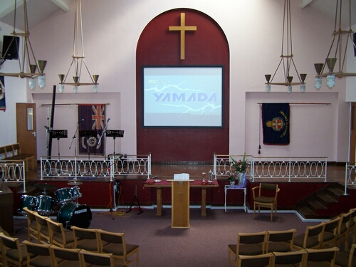 Baptist Church Audio Visual Installation
