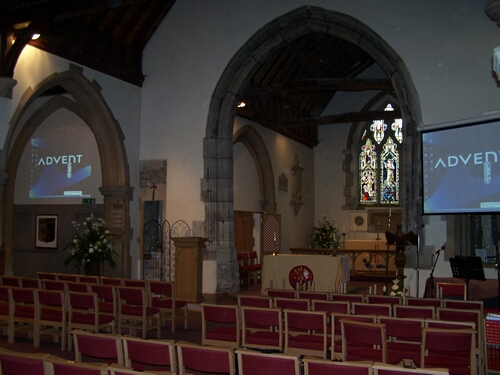All Saints Church Multiple Projection System