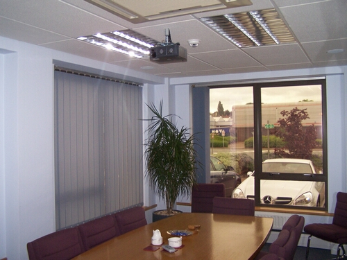Ceiling Mounted Presentation Projector