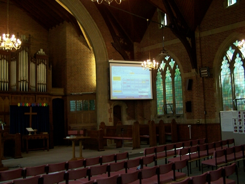 United Reform Church Projector Installation