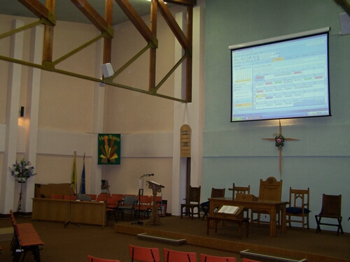 St Thomas Church Presentation System