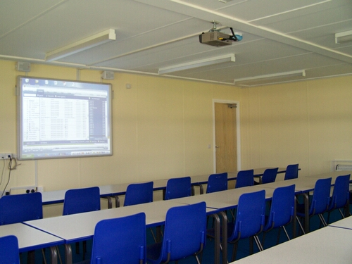 Interactive Whiteboard and Projector Installation