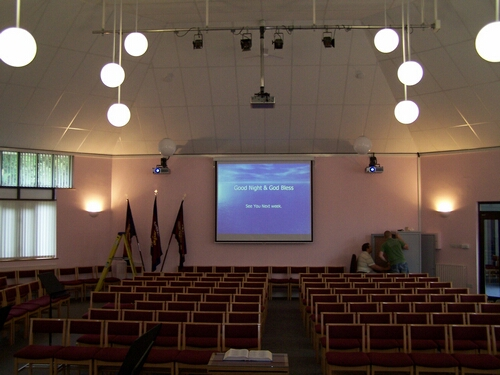 Complete Audio Visual Service for Churches