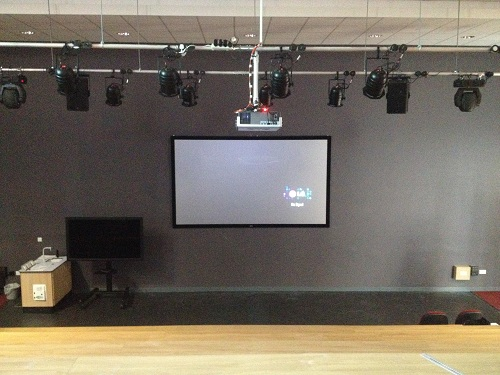 Lecture Theatre 5M Wide 3D Projector System