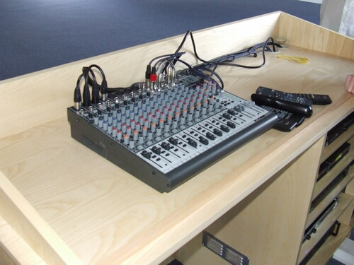 Mixing Desk Furniture for Churches