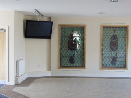 Flat Screen Display for Church Reception