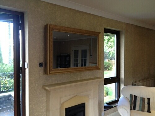 Contemporary, Modern and Traditional TV Frame Designs
