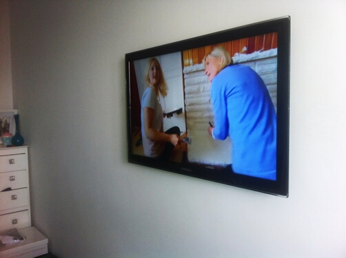 TV Wall Mounting with no cables