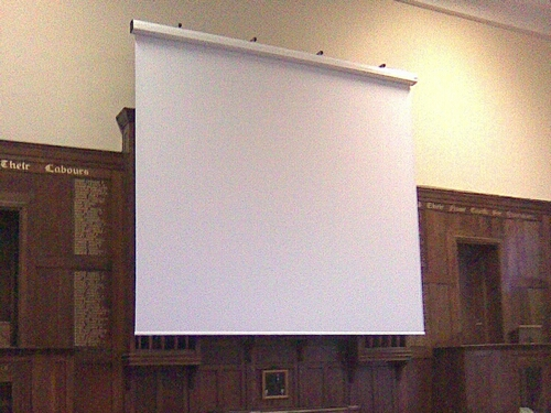 5M Custom Projector Screen Installation Service