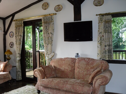 TV Installation in Cottage with Hidden Cabling