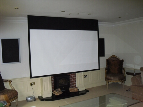 Custom Home Cinema Room Installation 2