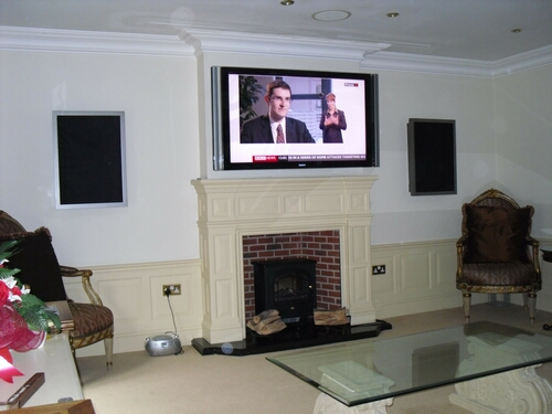 Custom Home Cinema Room Installation 1