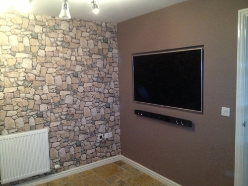 Recessed Custom TV Installation Service
