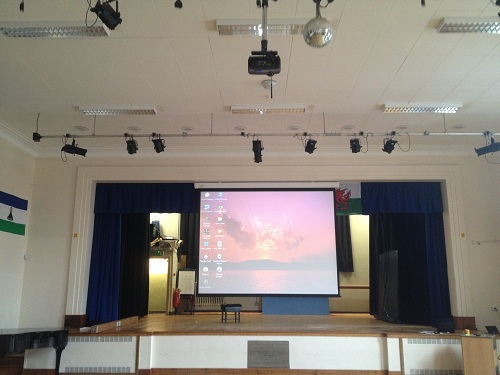 Hall Projector and Screen Installation