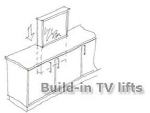 Pop Up Flat Screen TV Lift