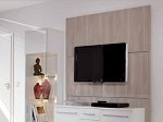 TV Wall Wood Collection