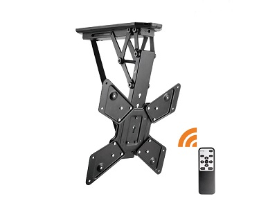Lithe Audio Motorised Flip Down Ceiling TV Mount