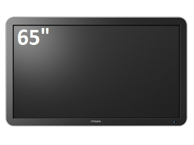 "Ctouch 65"" Leddura 4 Point Or 10 Point Interactive Display"