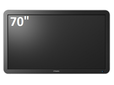 "Ctouch 70"" Leddura 4 Point Or 10 Point Interactive Display"