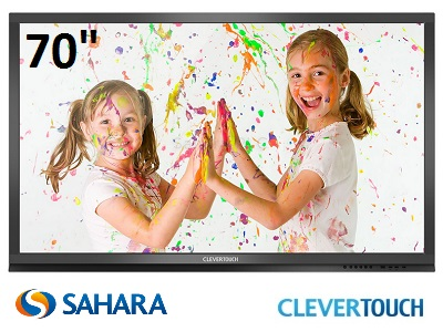"Clevertouch Plus Series 70"" Touch Screen"