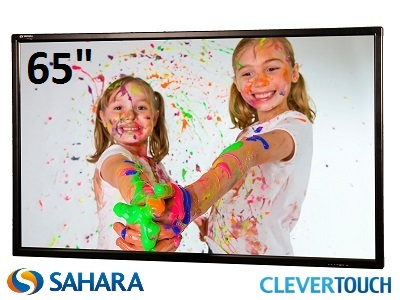 "Clevertouch S Series 65"" Interactive Touch Screen"