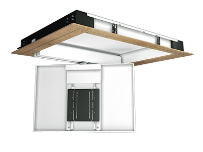 Future Automation Ceiling Hinge With Swivel TV lift System CHRS