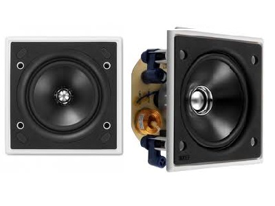 Kef Ci100QS Square flush fit Speaker